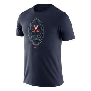 University of Virginia 2021 Men's Navy Football Tee