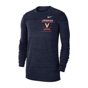 University of Virginia 2021 Nike Longsleeve Sideline Tee