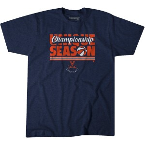 Virginia Basketball 2021 Regular Season Champ T-shirt