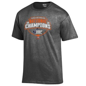 Virginia Women's Swimming and Diving 2021 National Champions Locker Room T-shirt