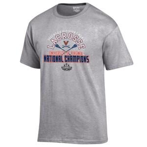 Virginia Men's Lacrosse 2021 National Champions Locker Room T-shirt