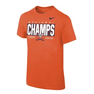 UVA Men's Lacrosse 2021 National Champions Tee