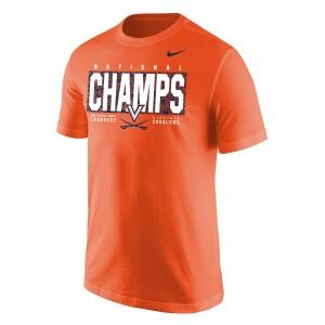 UVA Men's Lacrosse 2021 National Champions Youth Tee