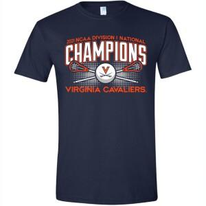 UVA 2021 Men's Lacrosse National Champ Tee