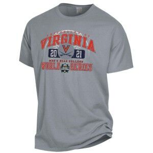 2021 Virginia College World Series Grey One-Spot T-shirt