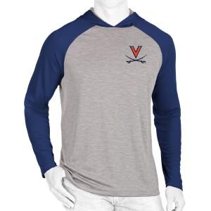 Virginia LS Hooded T-shirt