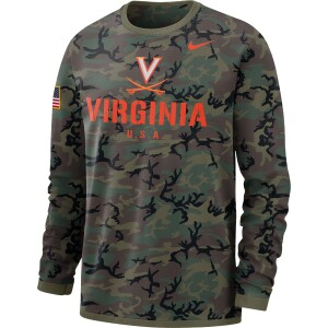 University of Virginia Nike Dri-Fit Men's Long Sleeve Sweatshirt