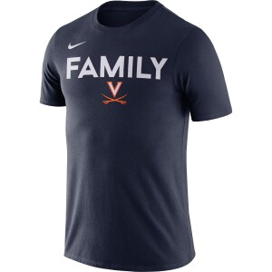 University of Virginia 2021 Nike Family Navy SS T-Shirt
