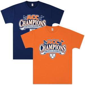 UVA Baseball 2011 ACC Champs T-shirt