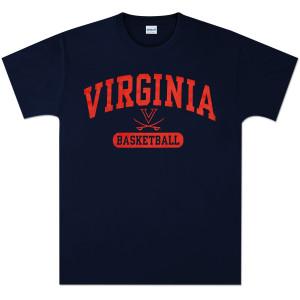 UVA Basketball Arch Pill II T-shirt