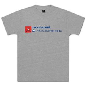 UVA People Like T-shirt