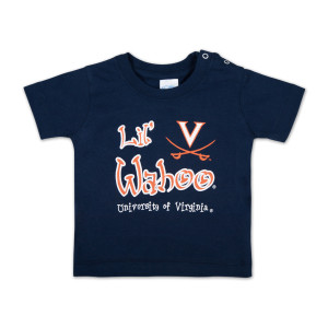UVA Infant Lil Wahoo Snap T-shirt