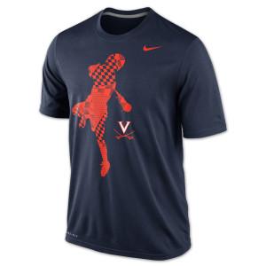 UVA NIKE Lax Dri-Fit Legend T-shirt