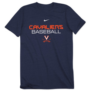 UVA NIKE Dri-fit Baseball Legend T-Shirt