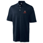 UVA Cutter & Buck Exclusive Baseball Polo