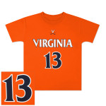 UVA Basketball #13 Youth Replica Jersey T-shirt