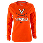 UVA Nike Ladies Logo Long Sleeve T-Shirt