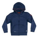 UVA Youth TKO Perf Front Zip Hoody