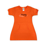 UVA Toddler Girls Pocket Dress