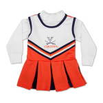 UVA Girls L/S TurtleNeck Cheer Jumper
