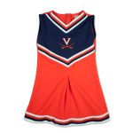 UVA Girls V Pleat Cheer Jumper
