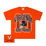 UVA Football Helmet Youth T-Shirt