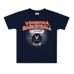 UVA Basketball Distress Net Youth T-Shirt