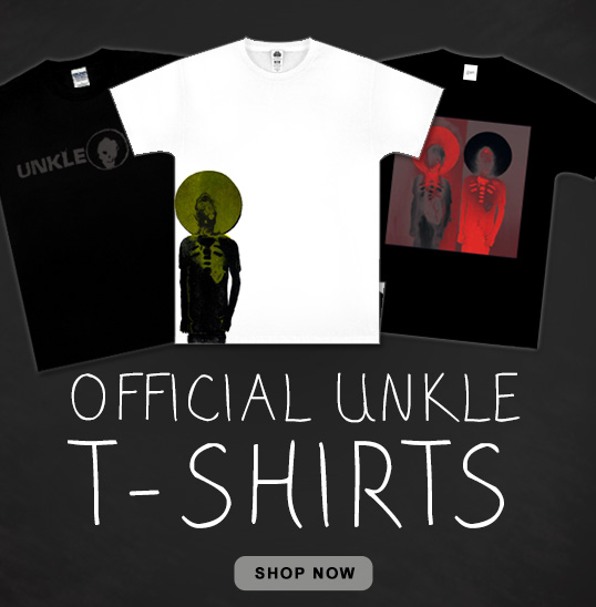 DJ James Lavelle UNKLE T-Shirts