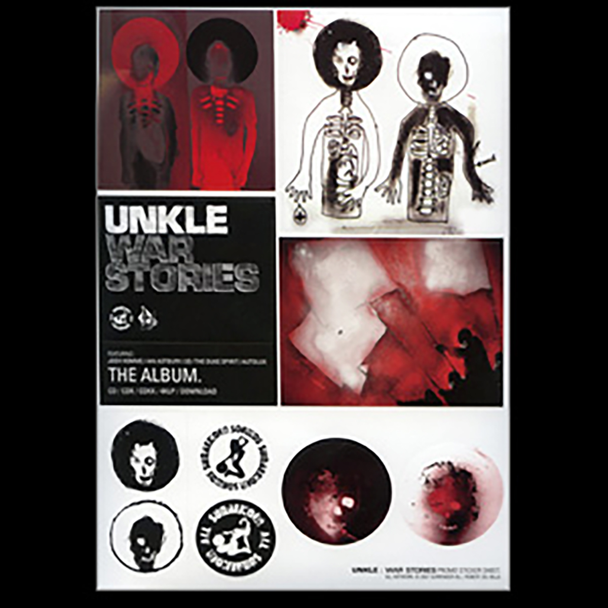 War Stories Sticker Sheet