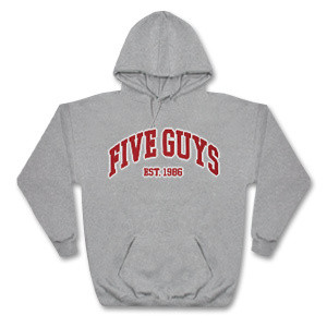 Five Guys - Hooded Sweatshirt