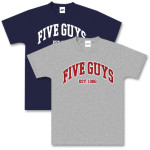 Five Guys Collegiate T-Shirt