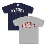 Five Guys Kid's T-Shirt