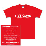 Five Guys Kid's Logo T-Shirt