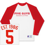 Five Guys Baseball T-Shirt