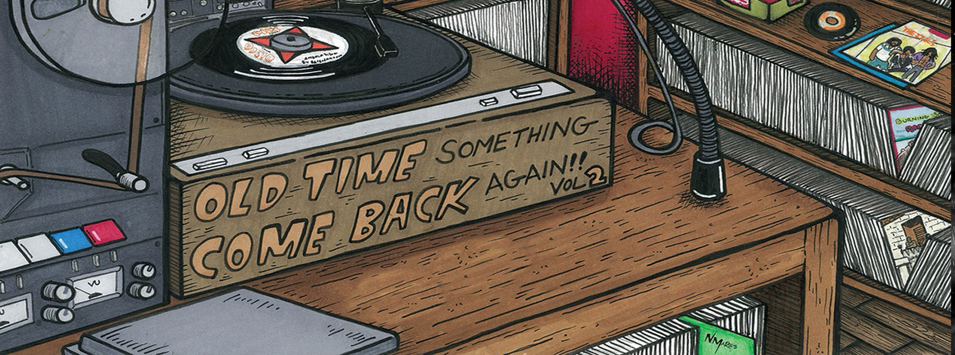 The Expanders - Old Time Something Come Back Again, Vol. 2