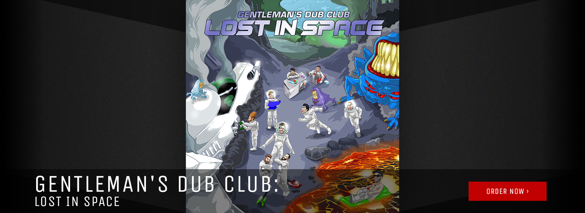 Gentleman's Dub Club: Lost In Space- Now Available!