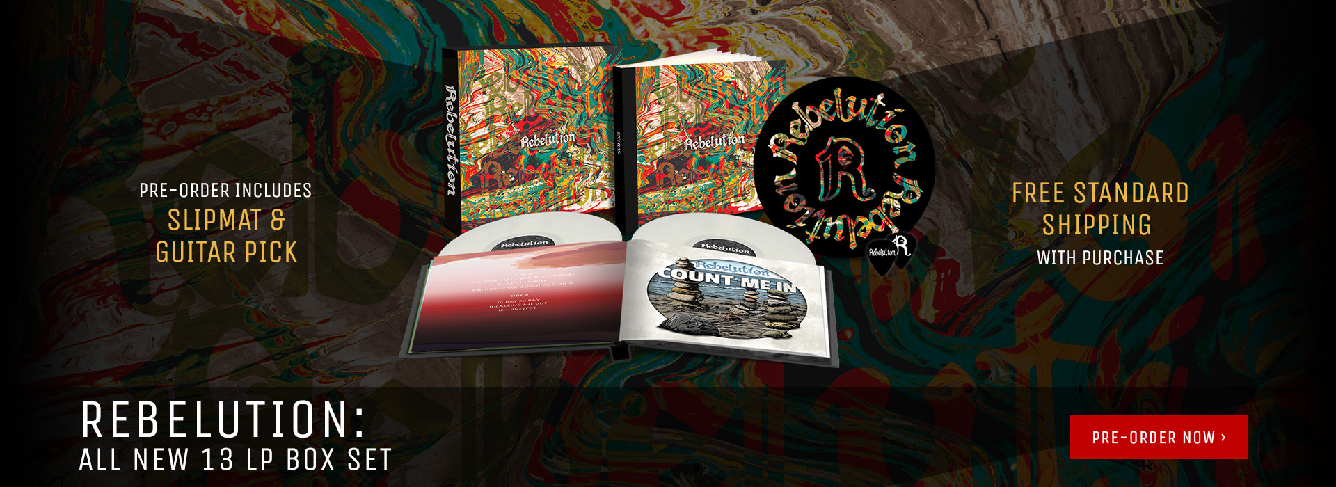 All new Rebelution Vinyl Box Set!