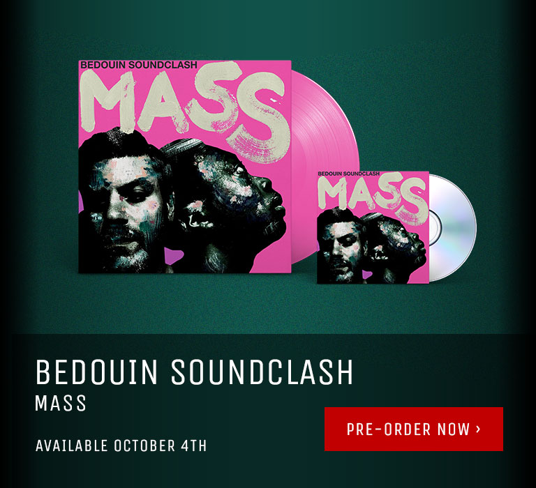 Bedouin Soundclash's Mass available now.