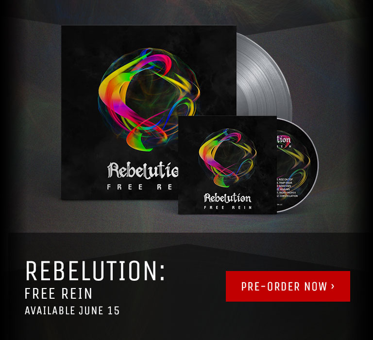 Rebelution - Free Rein: Available For Pre-Order