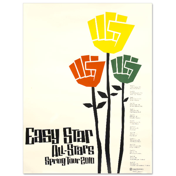 Easy Star All-Stars Spring Tour 2010 Poster