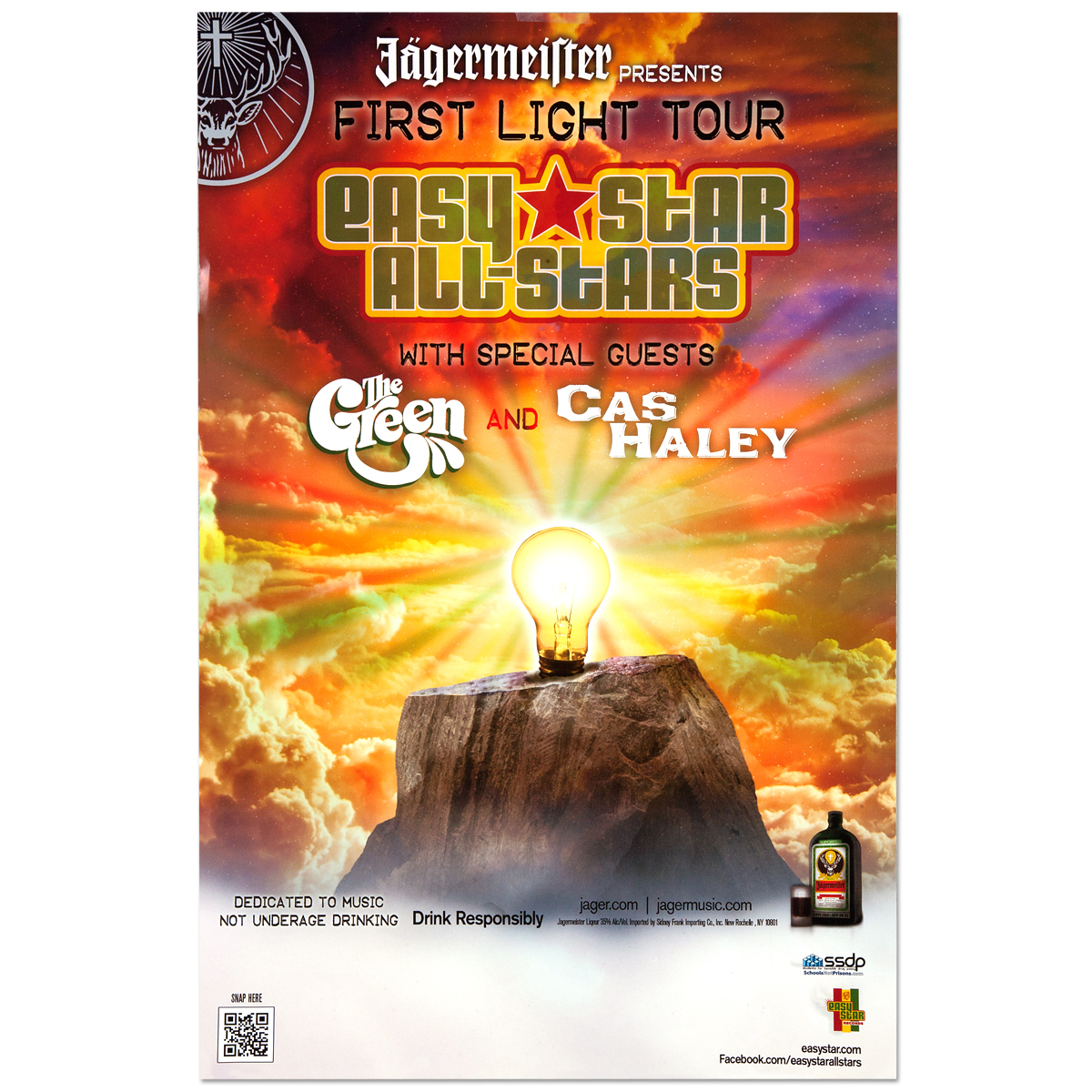 First Light Spring Tour Poster