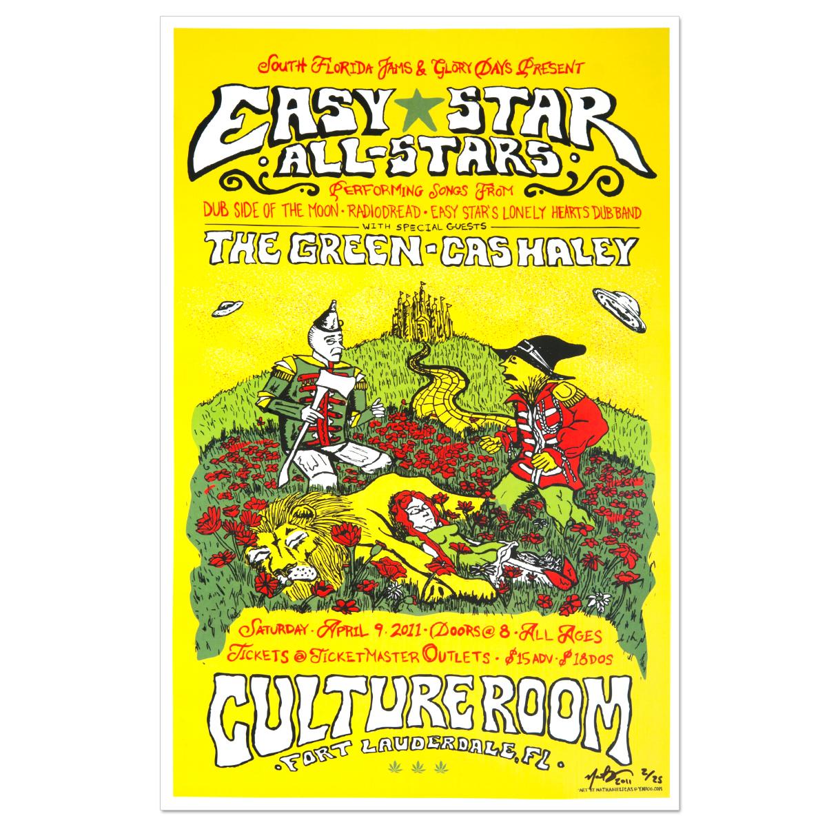Easy Star All-Stars Poster - April 10, 2011 - Fort Lauderdale