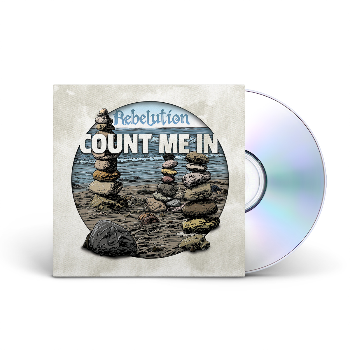 Rebelution - Count Me In CD