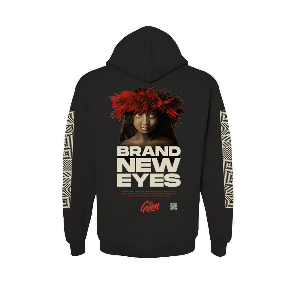 Brand New Eyes Black Hoodie