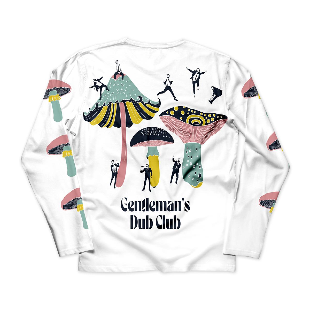Gentleman's Dub Club Unisex Down To Earth Long Sleeve Shirt