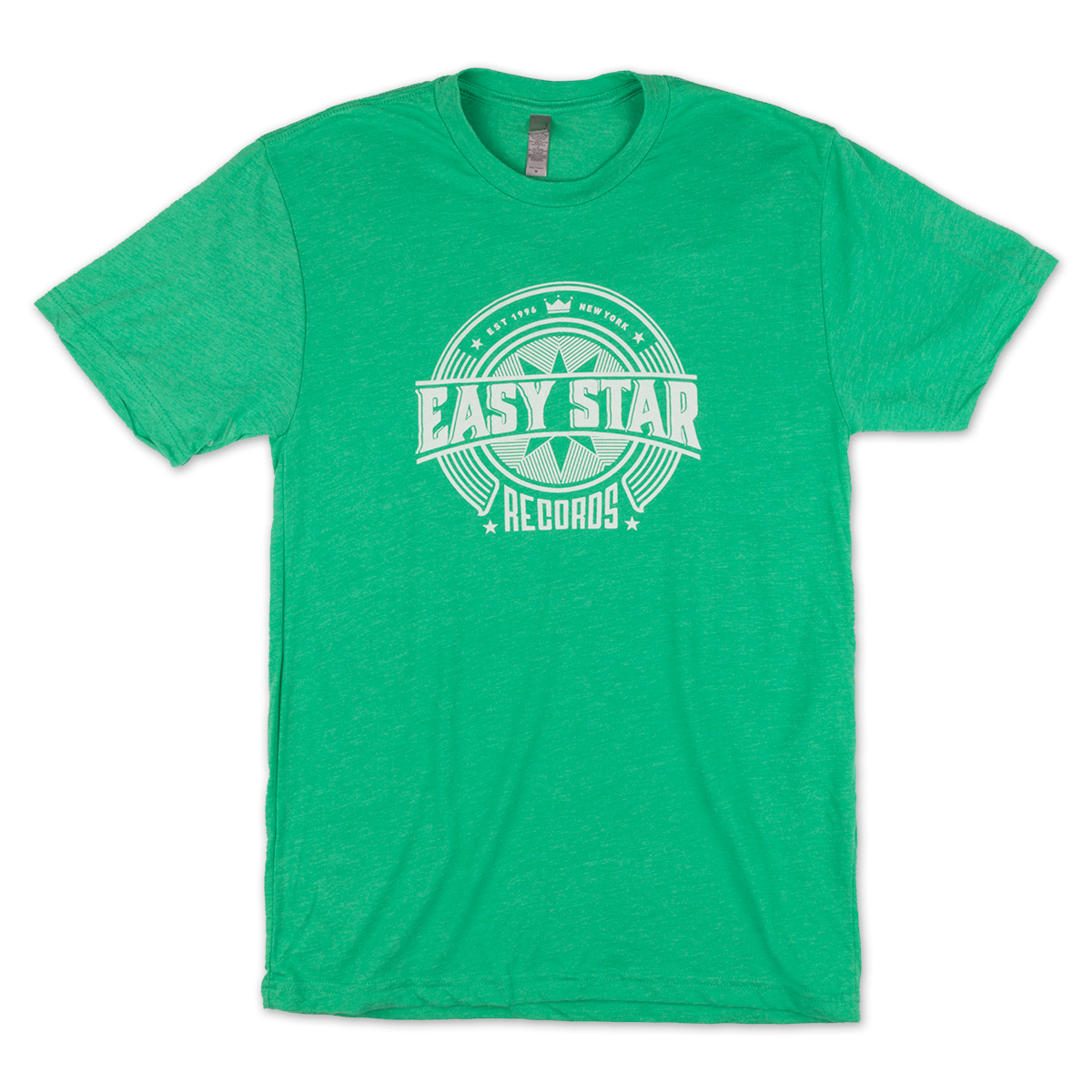 Easy Star Records Circle Logo Green Tee Shirt