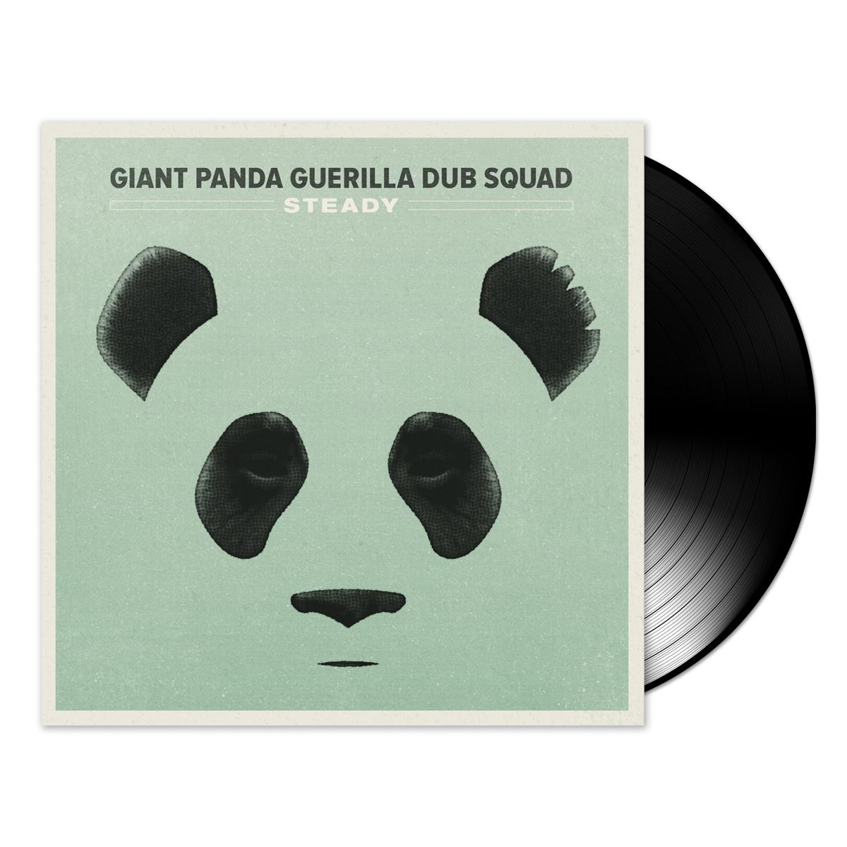 Giant Panda Guerilla Dub Squad – Steady 180 gram vinyl LP