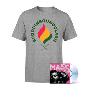 Bedouin Soundclash: Mass CD + T-Shirt Bundle
