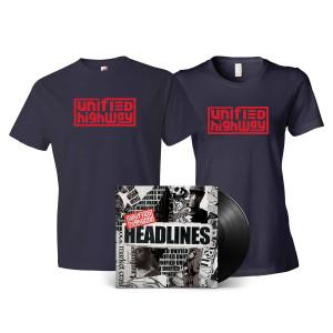 Unified Highway: Headlines LP + T-Shirt Combo