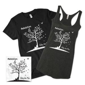 Falling Into Place CD + MP3 + Shirt
